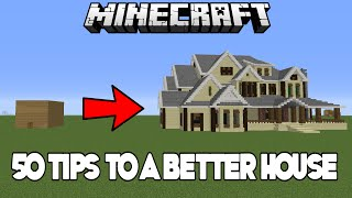 getlinkyoutube.com-50 Easy Tips & Tricks To Improve Your House In Minecraft (Xbox/PC)