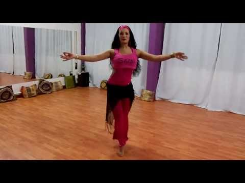 Sarai Bellydance, Choreography and Technique Oriental  PT -1 (online classes)