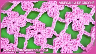 getlinkyoutube.com-Ponto de Crochê Fantasia - 11 - Aprendendo Croche