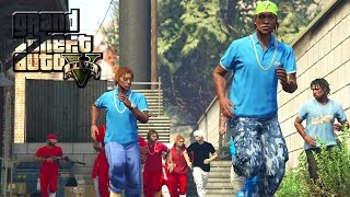 getlinkyoutube.com-GTA 5 | BLOODS VS CRIPS EP. 13 [HQ]