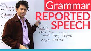 getlinkyoutube.com-Learn English Grammar: Reported Speech / Indirect Speech
