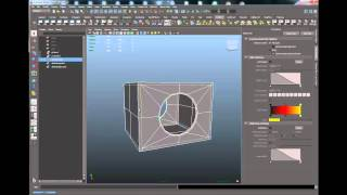 getlinkyoutube.com-howto cutting a hole using boolean and topology