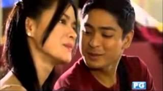 getlinkyoutube.com-Coco Martin & Erich Gonzales JuSario Kilig Kissing Scene in Juan Dela Cruz 7 11 13
