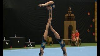 getlinkyoutube.com-Bentov-Lagman, Platania, Hulson - 1st Class Gym Annapolis - Womens Group - Zwingerpokal 2013