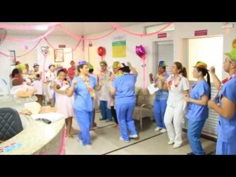 Maternidade do Norospar realiza carnaval para gestantes e puérperas