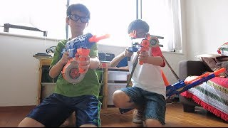 getlinkyoutube.com-Nerf War Revenge