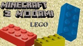 getlinkyoutube.com-Minecraft z Modami #50 - Lego - Klocki lego w minecraft!