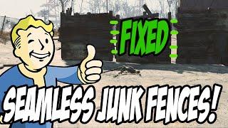 getlinkyoutube.com-► Fallout 4 - Junk Fence Gaps Fixed!  (workaround)