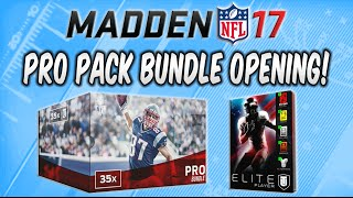 getlinkyoutube.com-MUT 17 - 35 Pro Pack Bundle Opening & Elite Player Pack Madden 17 Ultimate Team