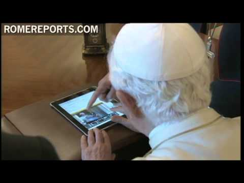 The video the Pope included in his iPad