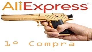 getlinkyoutube.com-Primeira Compra AliExpress Unboxing Arma (Nerf Gun)