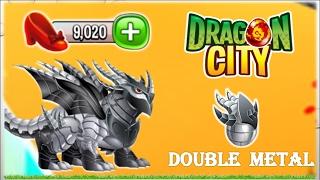 getlinkyoutube.com-Dragon City - Double Metal Dragon [Fairytale Island - Walkthought Part 6]
