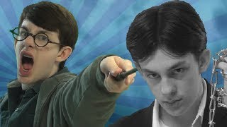 getlinkyoutube.com-Harry Potter vs Harry Houdini - Epic Rap Battles of History (Parody)
