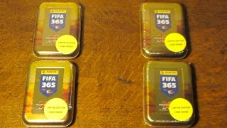 getlinkyoutube.com-Adrenalyn XL Fifa 365 - 4 TINS OPENED!