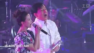 getlinkyoutube.com-Jackie Chan & Kim Hi-Sun -- Endless Love (live)