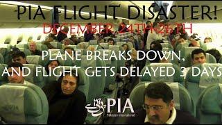 getlinkyoutube.com-FLIGHT DISASTER!, PK758, PIA Pakistan International Airlines, London to Lahore, 24/12/13