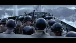 getlinkyoutube.com-Medal of Honor: Allied Assault - getting Omaha Beach (mission complete)