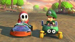 getlinkyoutube.com-Mario Kart 8 - 1v1 Race w/ The Diamond Minecart