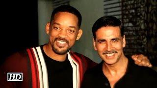 Will Smith And Akshay Kumar's Crazy Masti at Rustom SUCCESS BASH - Watch Video