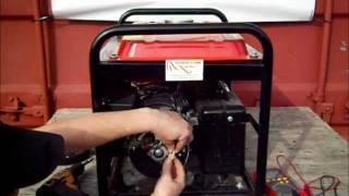 getlinkyoutube.com-How to test your Electricity Generator's AVR, Brushes and Alternator on a Brushed Alternator