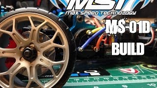MST  MS-01d Pro 2013 version build! RC Drift!