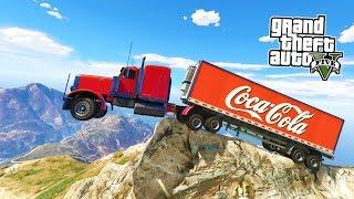 getlinkyoutube.com-GTA 5 PC Mods - PLAY AS A TRUCKER MOD #3! GTA 5 Trucking Mod Gameplay! (GTA 5 Mods Gameplay)