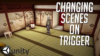 getlinkyoutube.com-How to Change Scenes Using a Trigger in Unity 5