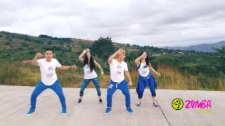 "getlinkyoutube.com-ZUMBA ""MUEVE LA CINTURA"" El Chevo ft Papayo by Honduras Dance Crew ""PUNTA """