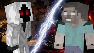 getlinkyoutube.com-Minecraft - Entity 303 vs Herobrine Fight