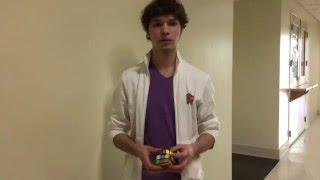 getlinkyoutube.com-Former Rubik's Cube world record holder, reveals how he solved it in 5.25 second.