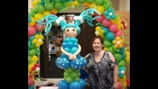 getlinkyoutube.com-How to make a balloon lalaloopsy