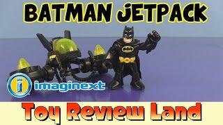 getlinkyoutube.com-Imaginext Batman Jetpack Toy with Spongebob, Superman, and The Joker!