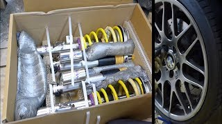 getlinkyoutube.com-【KW Suspensions】 Installation of Variant 3 Inox Coil-over Kit on BMW Z4M