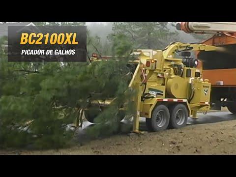 BC2100XL Vermeer, picador de galhos, arvore, madeira, tronco, triturador florestal