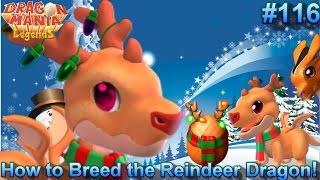 getlinkyoutube.com-How to Breed the Reindeer Dragon + Kangaroo Dragon Hatching! - Dragon Mania Legends #116