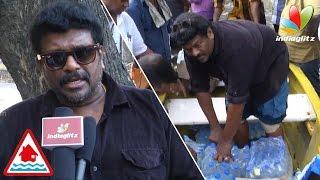 getlinkyoutube.com-Chennai floods: Parthiban became real hero