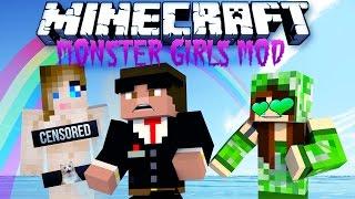 getlinkyoutube.com-MA COPINE VA ME TUER !! - Monster Girls MOD Minecraft [FR] [HD]