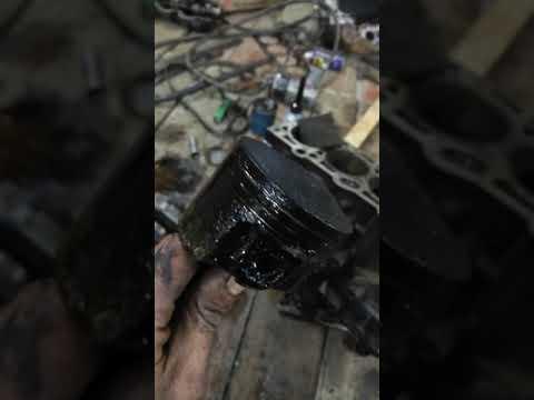 Залили битума в двигатель Чери Амулет
