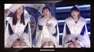 getlinkyoutube.com-[HD] [101229] SNSD - Snowy Wish + Hoot (feat. Minho)