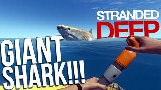 getlinkyoutube.com-Let's Play Stranded Deep Part 7 - Hacking and Modding! - GIANT SHARK! - Stranded Deep Gameplay