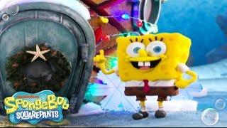 getlinkyoutube.com-It's A SpongeBob Christmas   'Santa Has His Eye On Me' Music Video   Nick