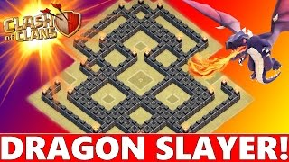"getlinkyoutube.com-Clash Of Clans | BEST TOWN HALL 7 (TH7) WAR BASE! ""DRAGON SLAYER"" | NEW ANTI DRAGON DESIGN 2015!"