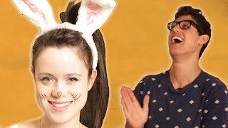 getlinkyoutube.com-Boyfriends Choose Their Girlfriends' Halloween Costumes