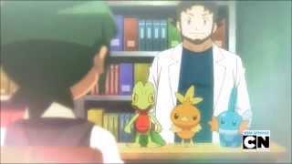 getlinkyoutube.com-Pokemon XY 075: Sawyer's Flashback (English dub)