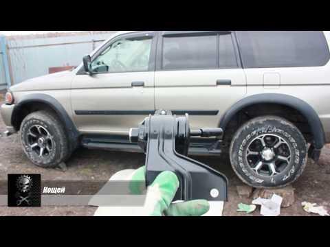 Как заменить топливый фильтр на Mitsubishi Pajero/Montero Sport
