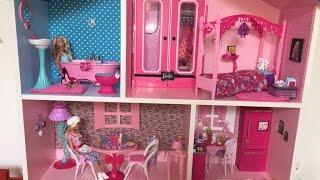 getlinkyoutube.com-Minha casa da Barbie customizada MDF - Mikaela & Sofhia