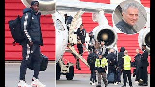 Man United fly to Leicester early to avoid travel issues