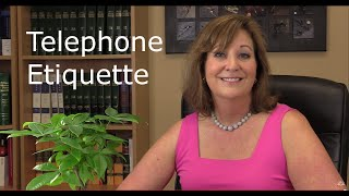 Telephone Etiquette - Personal vs. Professional width=