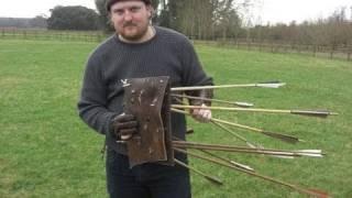 getlinkyoutube.com-The Longbow Vs Cuir Bouilli (Boiled Leather) - Video 22