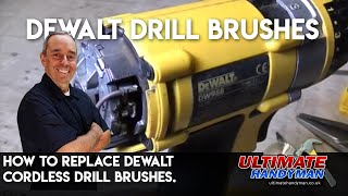 getlinkyoutube.com-How to replace Dewalt cordless drill brushes.